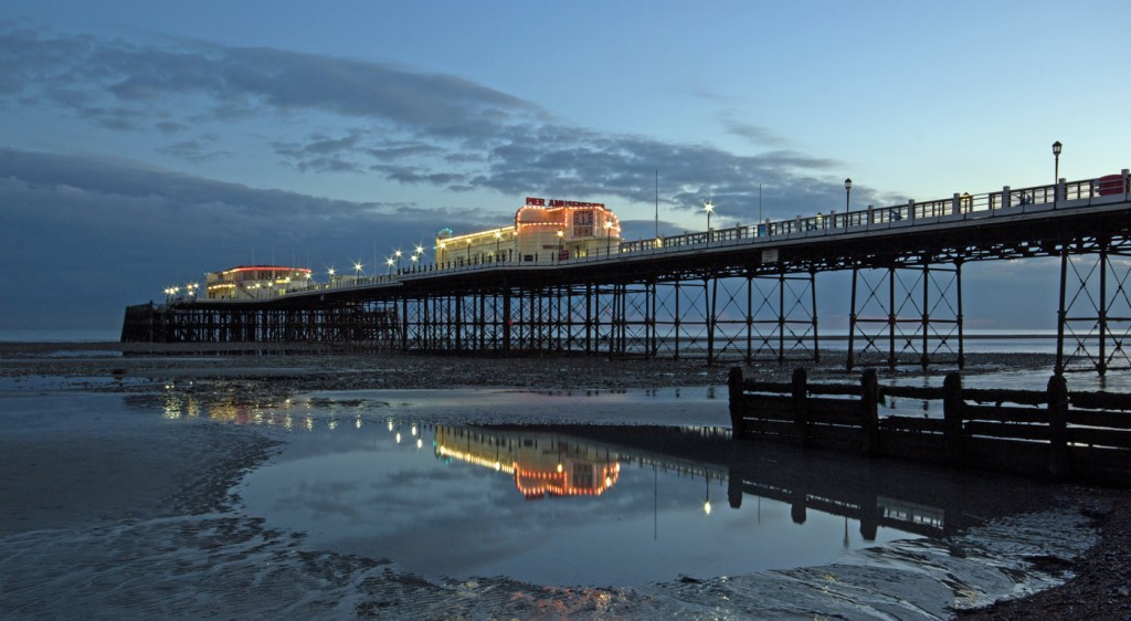 Worthing Pier by Sheila Orford